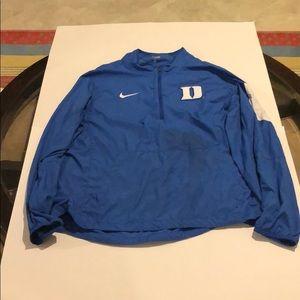 Mens Duke Blue Devils Large Pullover Jacket
